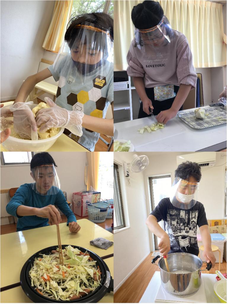 ぴよランド・調理活動